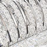 KJLARS Ceiling Light Crystals Fixture Flush Mount