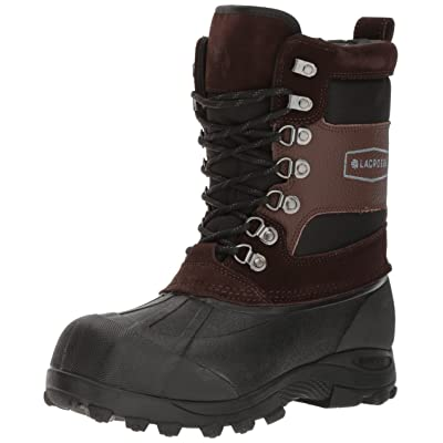 "Lacrosse Men's Outpost II 11"" Brown-M, 10 M US | Snow Boots"