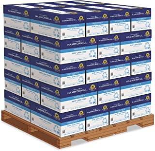 product image for Hammermill Great White Recycled Copy Paper - Great White Recycled Copy Paper, 92 Bright, 20lb, 8-1/2 x 11, 200,000 Sheets/PLT