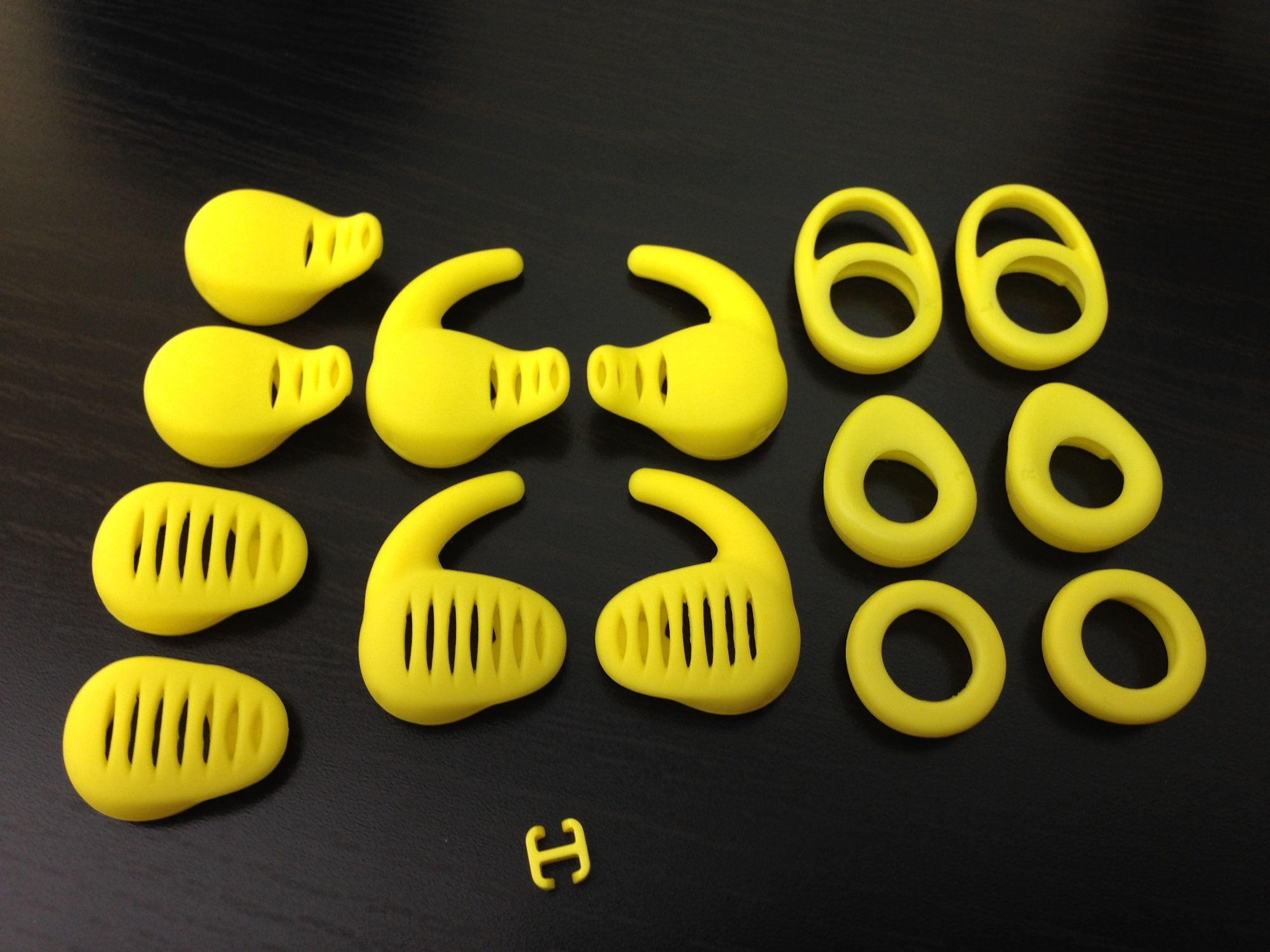 تنظیم OEM 14 EarGels و 1 FitClip برای Jabra Sport Wireless Jabra Sport Jabra هدست بلوتوث گوش جوانه های گوش برای استابلایزر Eargels Earbuds Eartips Earstabilizer تعویض
