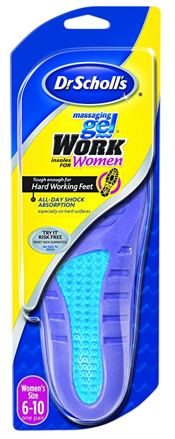 cfcaa90e7c Image Unavailable. Image not available for. Colour: Dr. Scholl's Massaging  Gel Work Insoles for Women