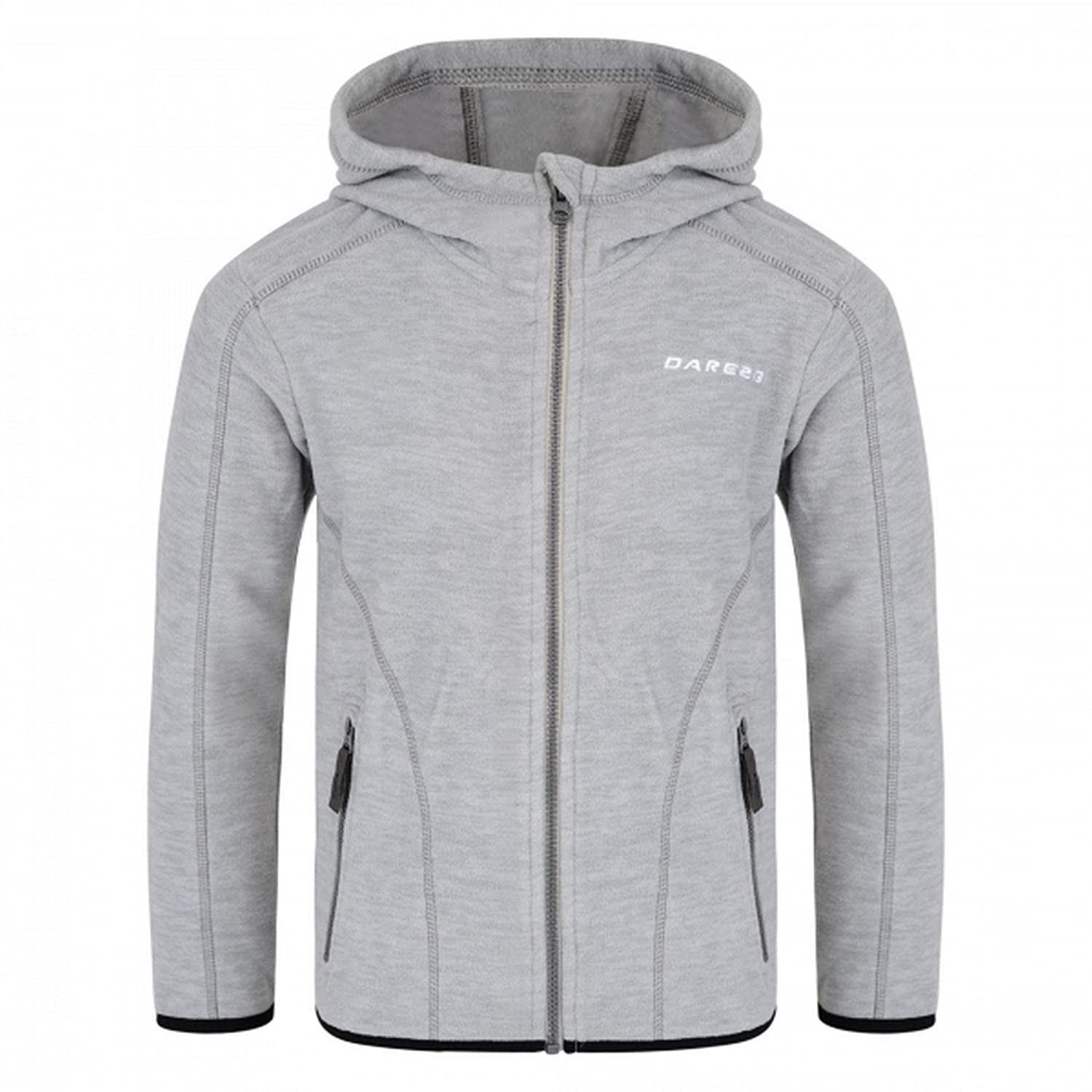 Trespass Kids Shaw Warm Fleece Jacket with Hood 230gsm for Children Boys//Toddlers Ages 2-12 for Walking//Hiking//Trekking//Camping//Outdoor//Snowsports//Skiing//Snowboarding