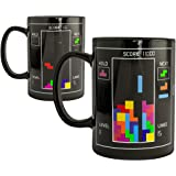 Tetris Heat Changing Ceramic Coffee Mug - Classic Video Game Themed Tea Cup