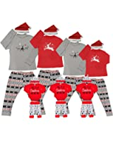 Matching Christmas Pjs For Family Xmas Thanksgiving Pajamas Sets Jammies For Women Kids Boys Couples Holiday