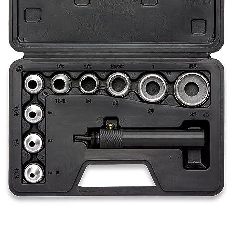 New Power Hole Punch Kit Sheet Metal Hand Tool Set HEAVY DUTY