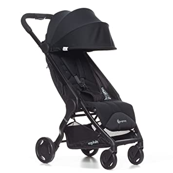 Ergobaby Metro Lightweight Baby Stroller Compact Stroller With Easy One Hand Fold Black