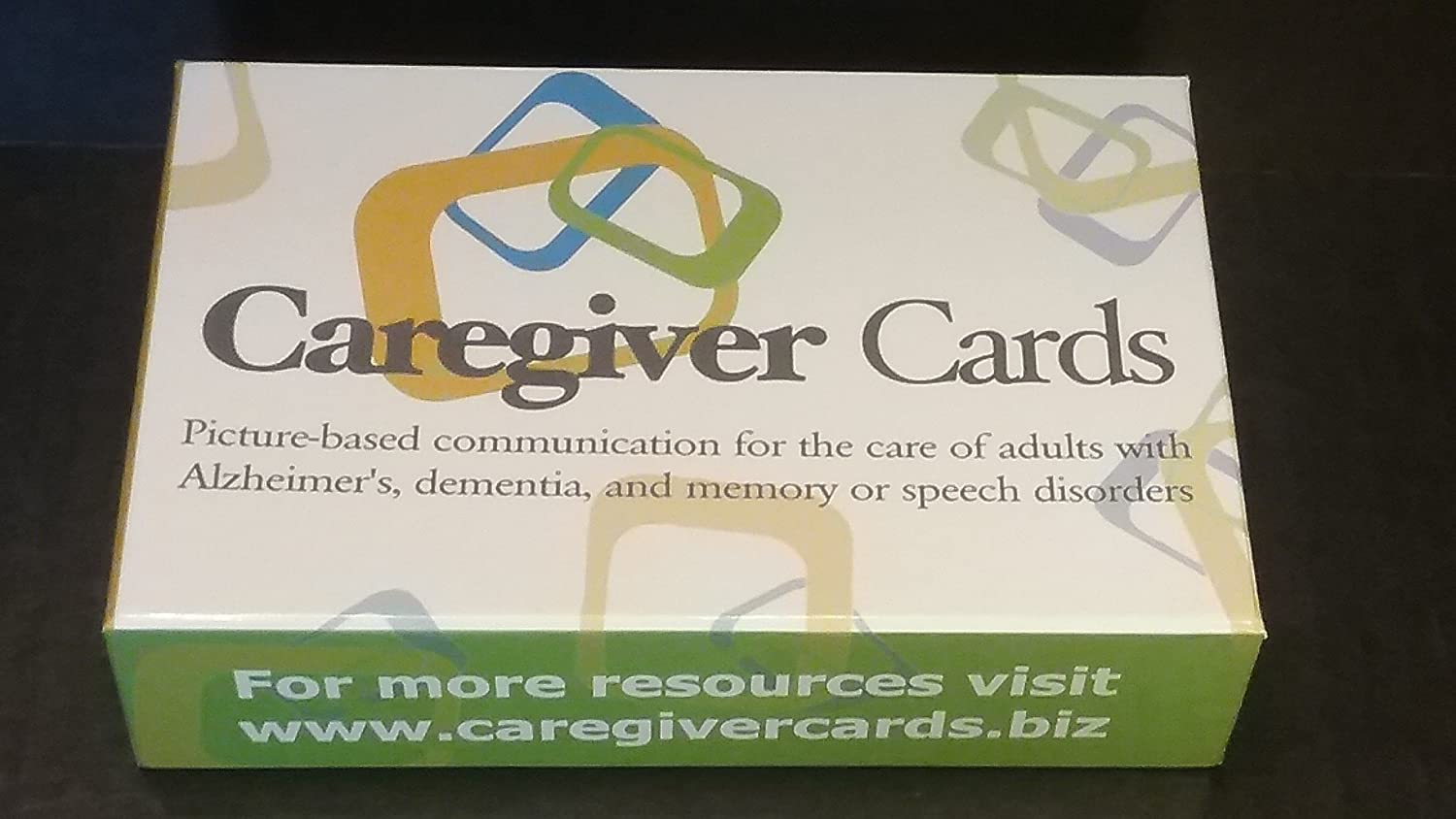 Amazon.com: Caregiver Cards - Picture Based Communication Cue Cards for Adults with Memory, Speech, and Cognitive Challenges Due to Alzheimers, ...