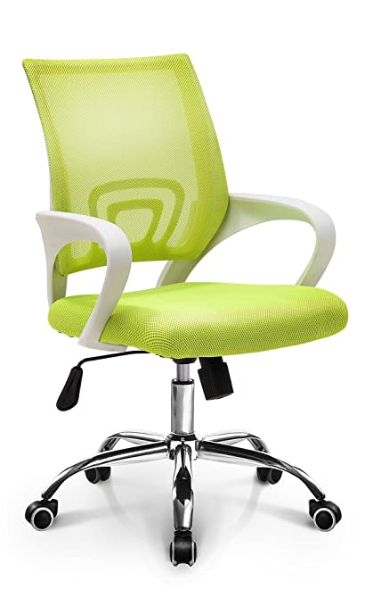 Neo Chair Fashionable Home Office Chair Conference Room Chair Desk Task Computer Mesh Chair : Ergonomic Lumbar Support Swivel Adjustable Tilt Mid Back ...