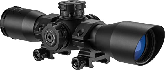 BARSKA AC11876 4x32 IR Contour Riflescope Illuminated Mil-Dot Reticle