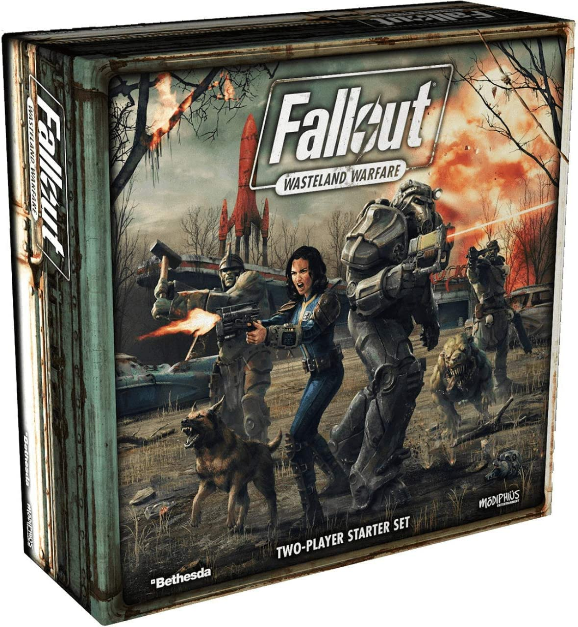 Modiphius Entertainment Fallout Wasteland Warfare - Two Player ...