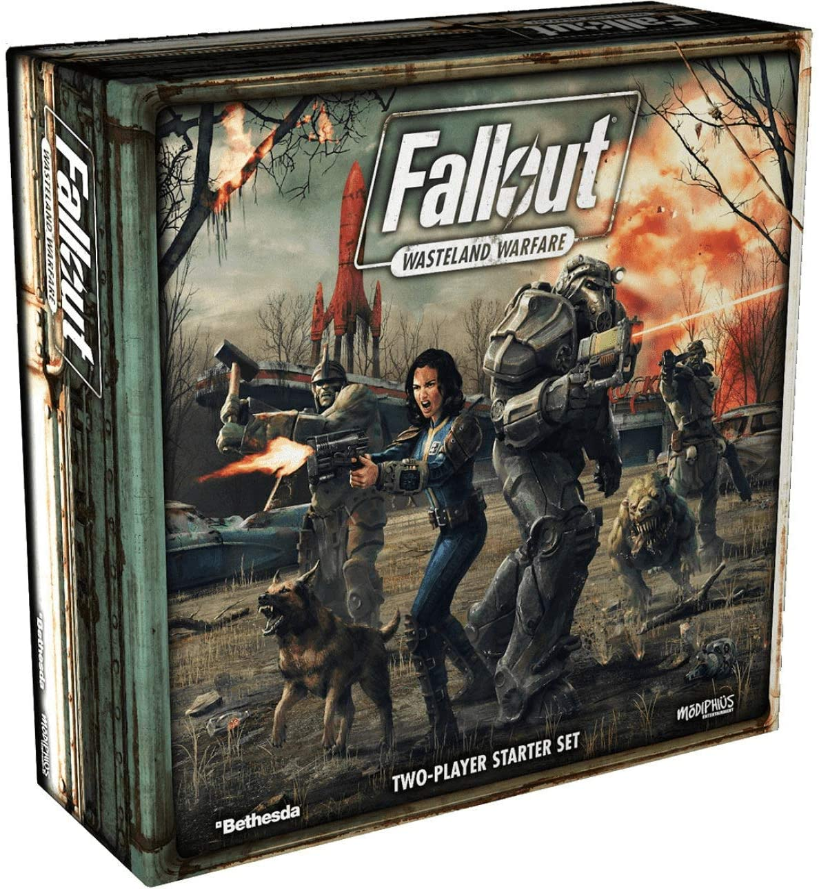 Modiphius Entertainment B07GB5GRV6 Fallout: Wasteland Warfare ...