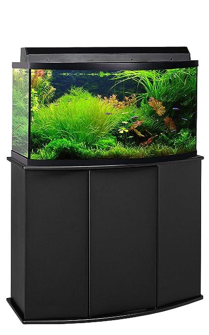 Amazon Com Aquatic Fundamentals 46 Gallon Bow Front Aquarium Stand