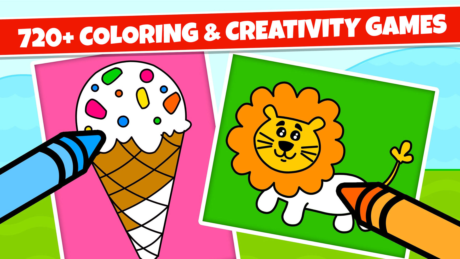 Amazon.com: Kidlo Coloring Games for Kids and Drawing Book ...