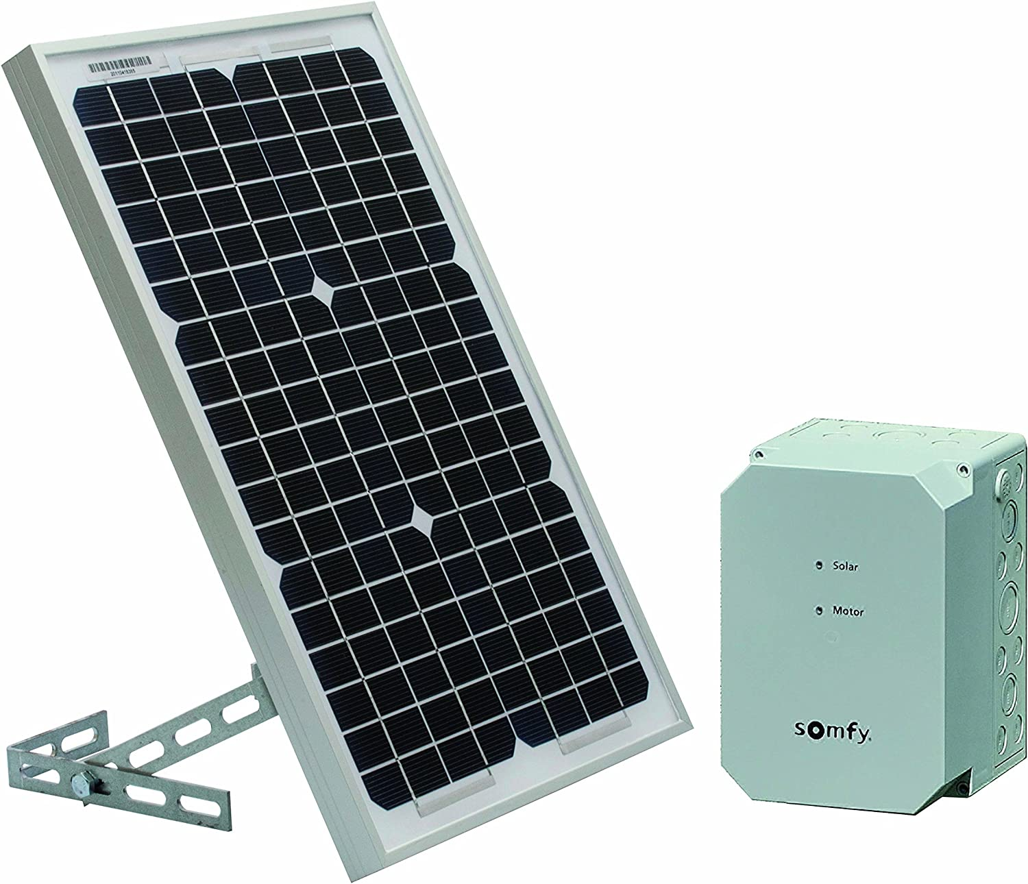 Somfy 2400961 Kit de Alimentación Solar, Gris: Amazon.es ...