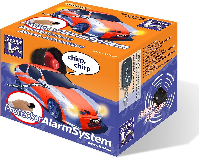 Auto Kfz  Schutz-System Alarmanlage mit 2 Handsendern ZV-Ansteuerung
