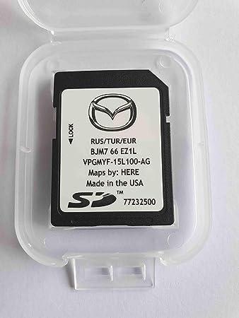 mazda navi sd karte SD Karte GPS Mazda Connect Europe Turquie Russie 2018 (BJM766EZ1L