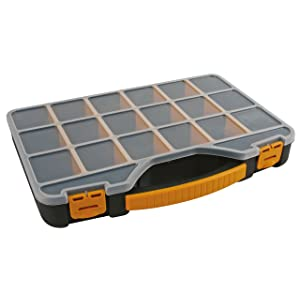 Perel OMR13 13-Inch Storage Box/Organizer