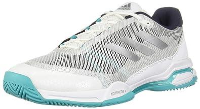 san francisco b8f5e a3cf6 adidas Barricade Club Mens Tennis Shoe (White Grey Blue) (7)