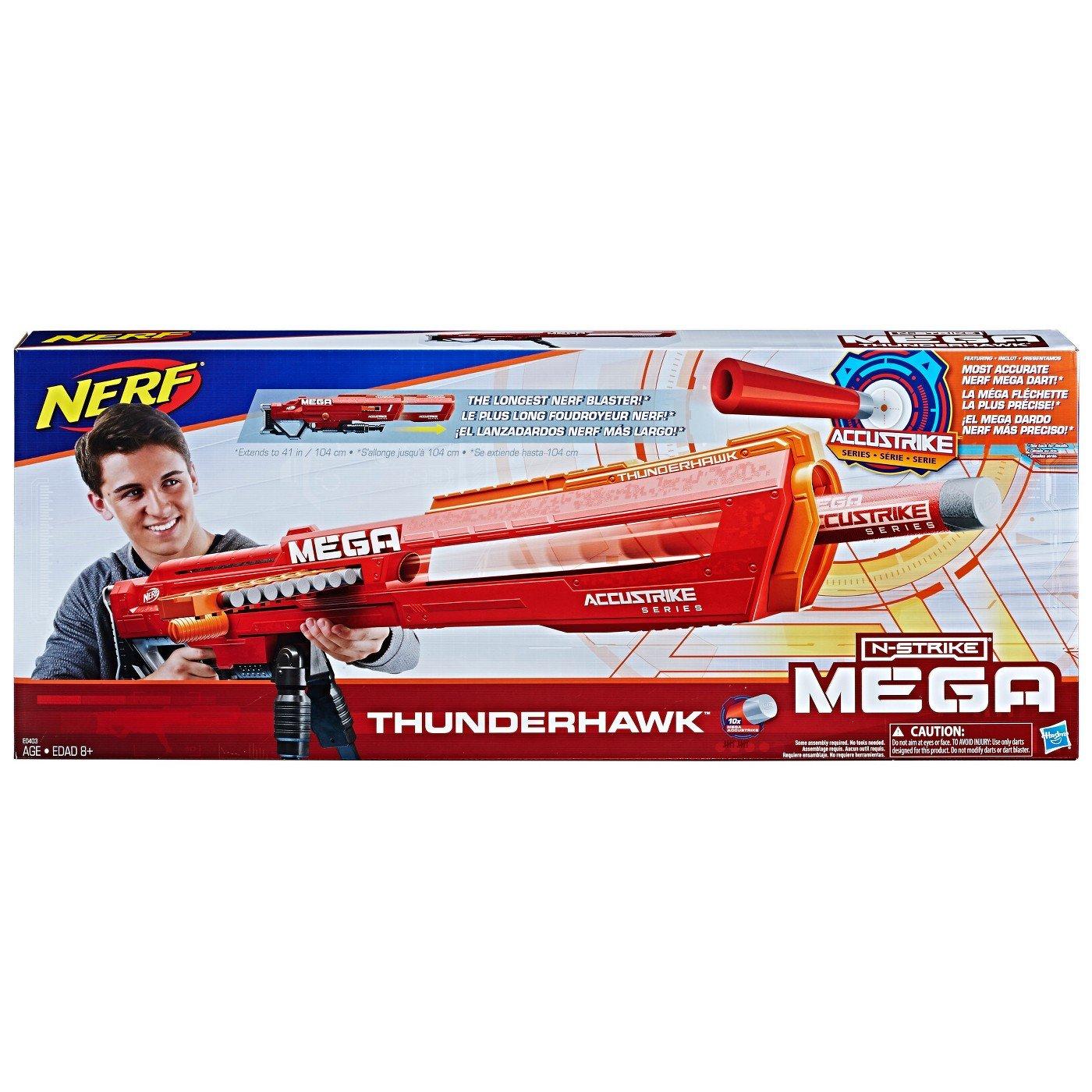 NERF Mega Thunderhawk Blaster メガサンダーホークブラスター [並行輸入品] B07FNC2QDH