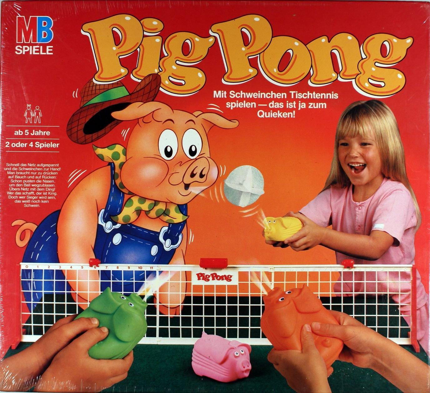 MB Pig Pong - Mit Schweinchen Tischtennis spielen - das ist ja zum Quieken