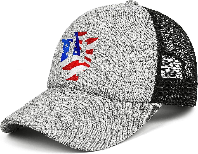 UHVAAAI Unisex Trucker Hat Adjustable Cool Run Hat