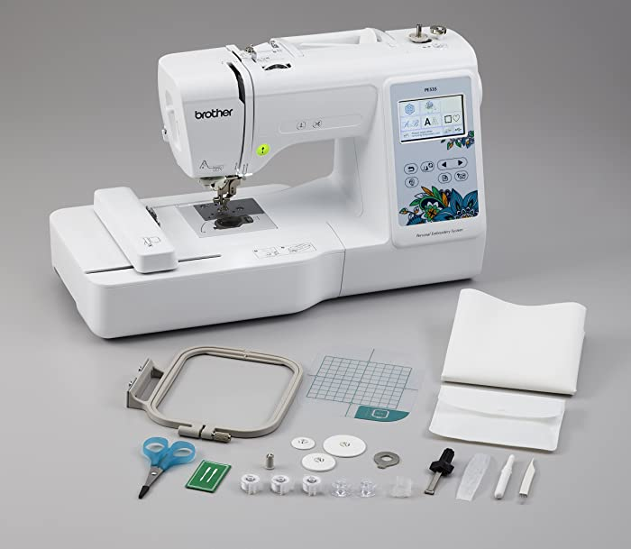Brother PE535 Embroidery Machine For Beginners