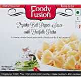 Foody Fusion Farfalee Pasta, Paprika Bell Pepper Sauce, 200g