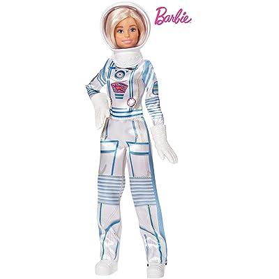 Barbie Quiero Ser Astronauta, muñeca 60 aniversario con accesorios (Mattel GFX24): Juguetes y juegos