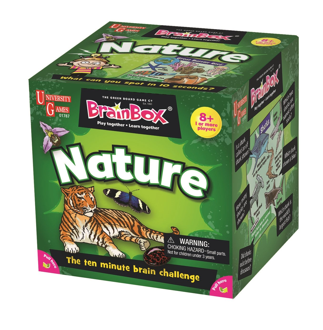 BrainBox for Kids - Nature Card Game