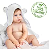 Organic Bamboo Hooded Baby Towel - Soft, Hooded