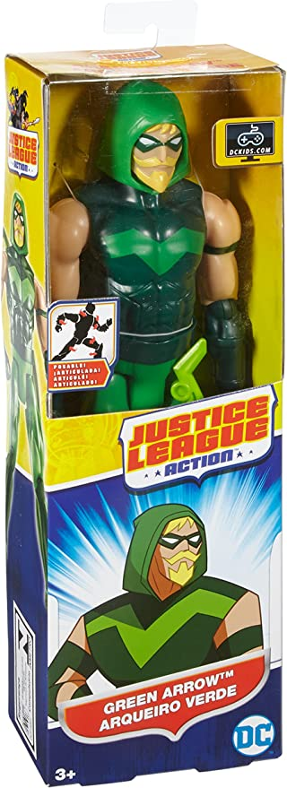 Justice League Figura Flecha Verde, 30 cm (Mattel FBR06): Amazon ...