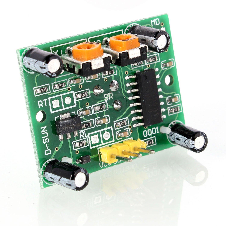 Aukru HC-SR501 Módulo del sensor de movimiento PIR infrarrojo de piroelectricidad del cuerpo humano: Amazon.es: Electrónica