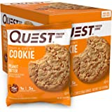 Quest Nutrition Protein Cookies, Box of 12, Peanut Butter