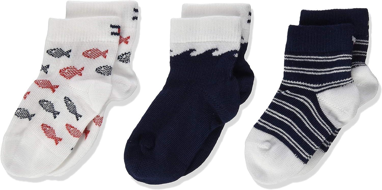Tommy Hilfiger Baby Boys Calf Socks Pack of 3