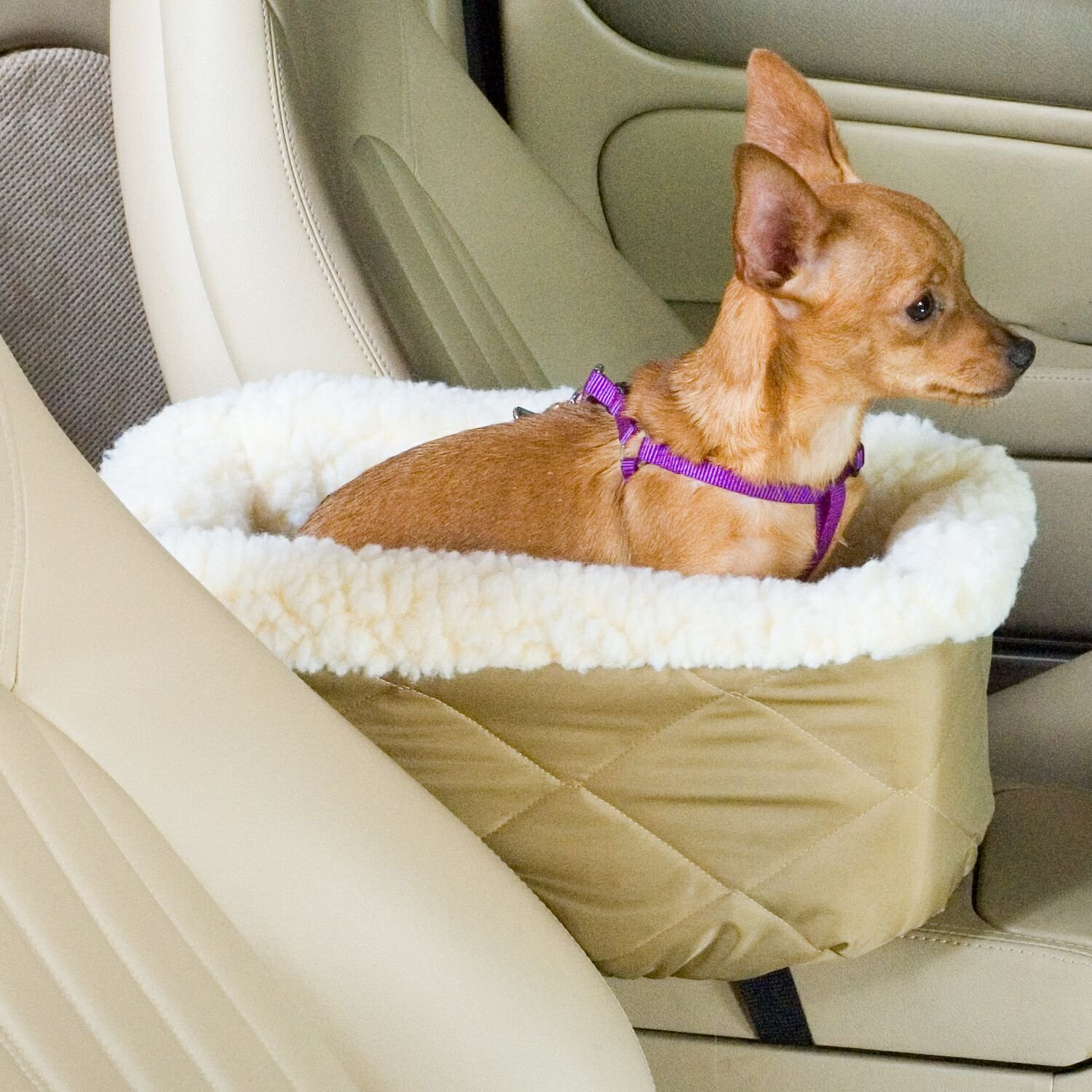 Snoozer Large Console Lookout Car Seat, Khaki by Snoozer (Image #2)