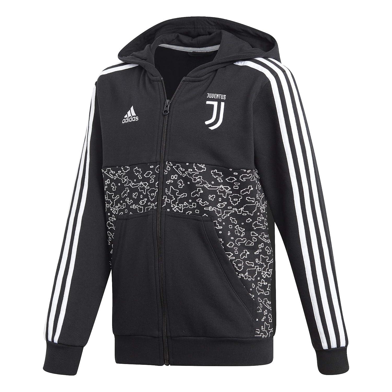 67b4196b6 adidas Juventus Junior Hoody Full Zip Sweat 2018-2019