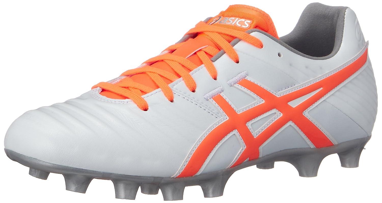 [アシックス] サッカー スパイク DS LIGHT 3-slim (現行モデル) B077N3M66M 25.5 cm|パールホワイト/ショッキングオレンジ パールホワイト/ショッキングオレンジ 25.5 cm