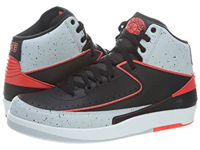 new product 38b3c 91ed1 Nike air Jordan 2 Retro Mens hi top Basketball Trainers 385475 Sneakers  Shoes jumpman23 (UK