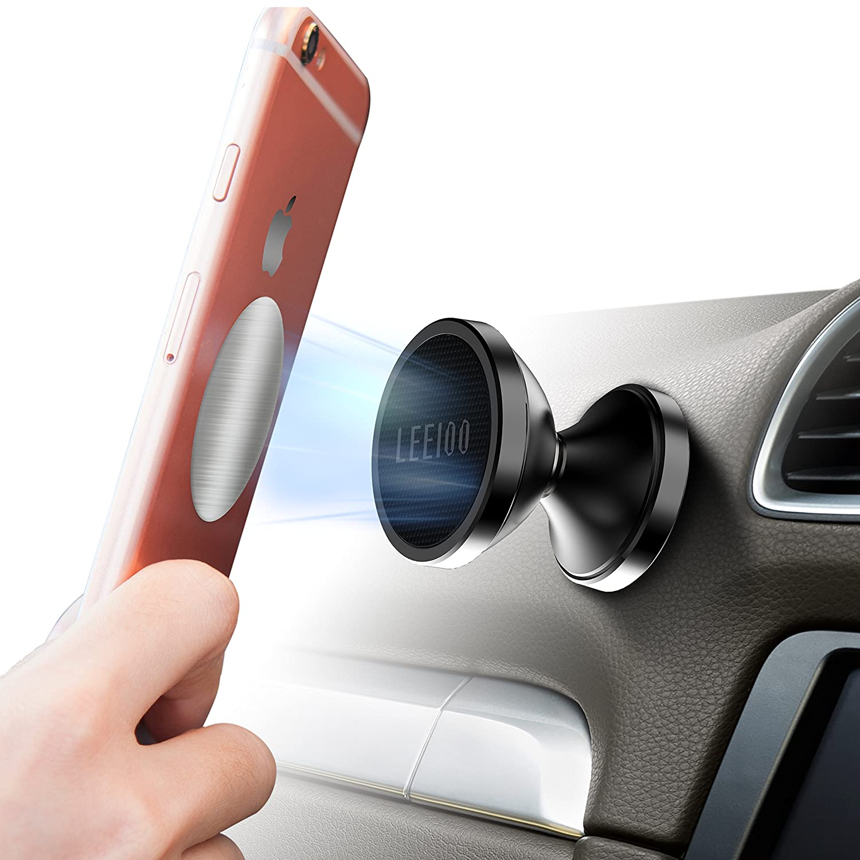 Montaje del Coche Universal Magnetic Teléfono Celular Soporte de Montaje para el iPhone Samsung Galaxy LG HTC, Android Smartphone y Palos en Cualquier ...