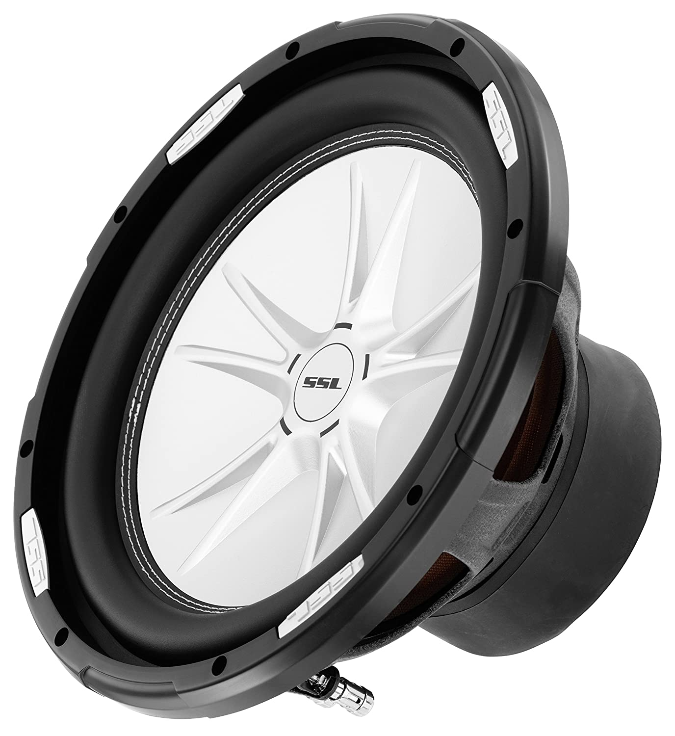 Sound Storm Slr12dvc 12 Inch 2500 Watt Dual 4 Ohm Surround Speaker Wiring Diagram Also How To Wire A Voice Coil Car Subwoofer Electronics