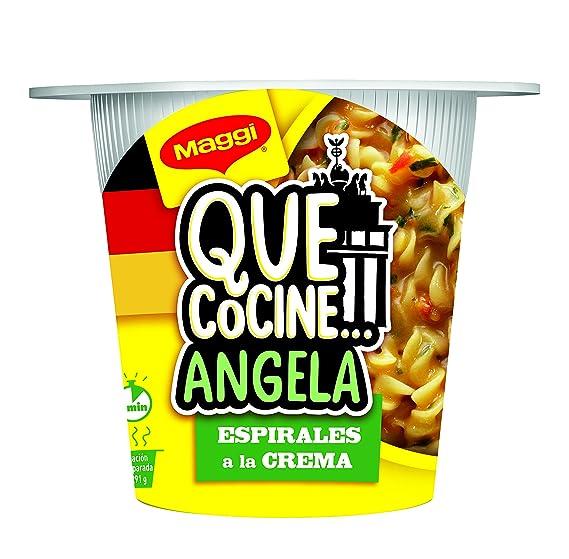Maggi Que CocineAngela Pasta a la crema con especias, deshidratada - 1 paquete, 81