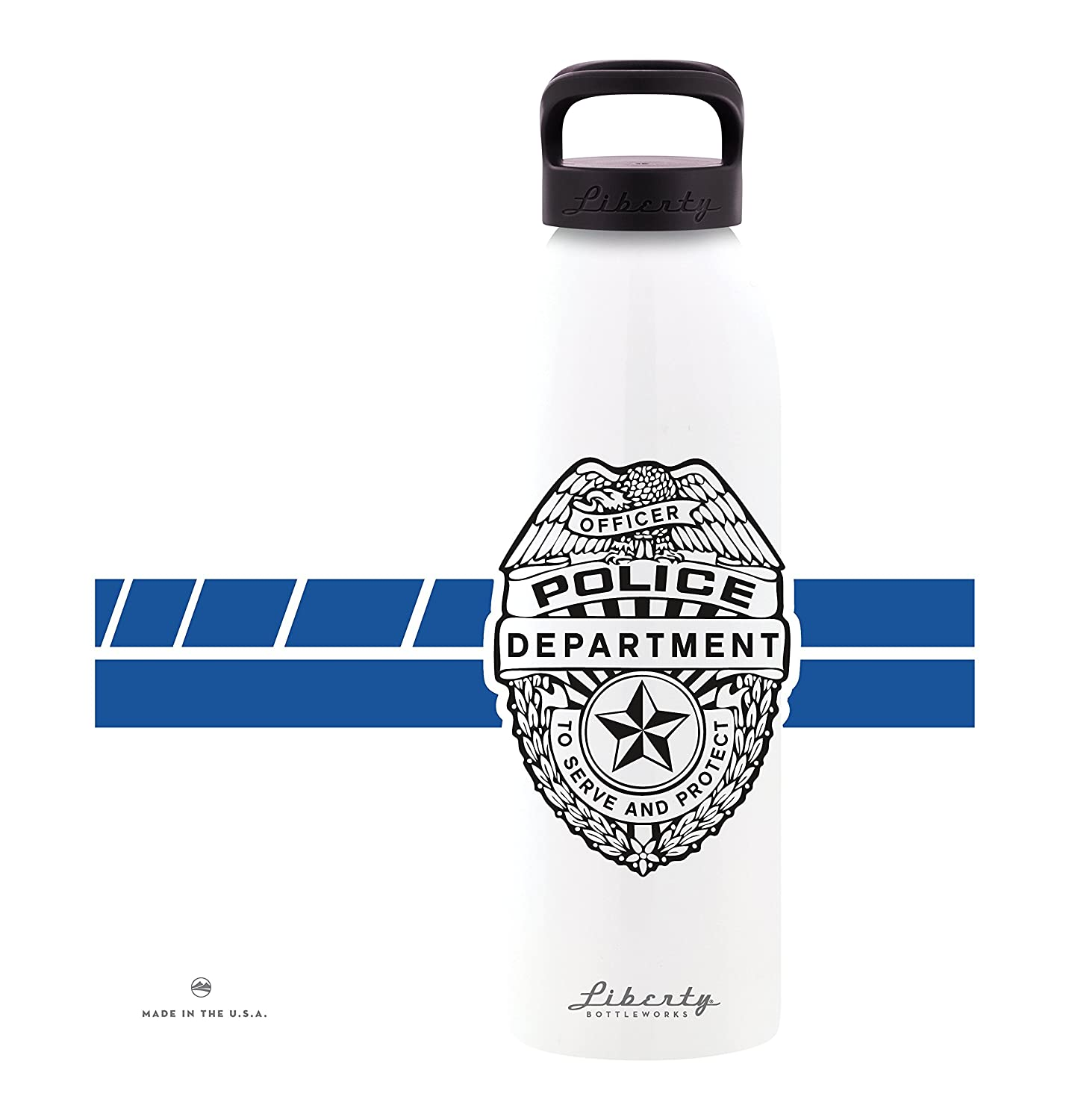 Liberty Bottleworks PD Aluminum Water Bottle Made in USA 24104245S-P