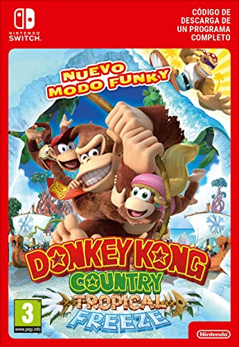 Donkey Kong Country: Tropical Freeze | Switch-Download Code ...
