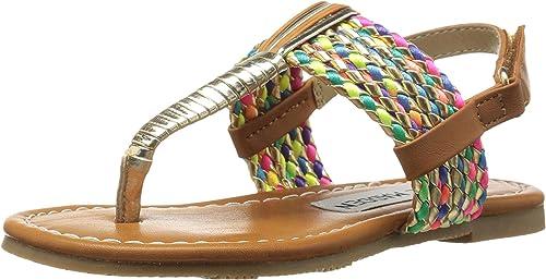 95526bd0991e7f Steve Madden Kids Baby Girl s Tfaattte (Toddler Little Kid) Multi Sandal
