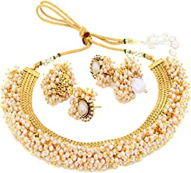 Sukkhi Choker Necklace for Women (Golden) (N71437GLDPAP3050)