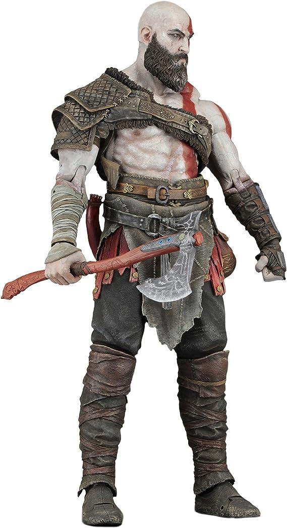 Amazon Com Neca God Of War 2018 7 Scale Action Figure Kratos Toys Games