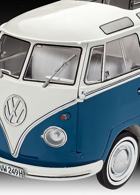 Revell Maqueta Volkswagen T1 Samba Bus, Kit Modelo, Escala 1:16 (07009), 27,2 cm de Largo (: Amazon.es: Juguetes y juegos