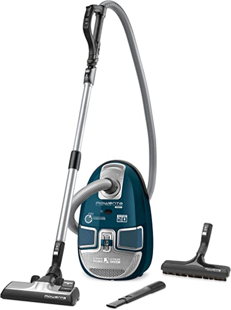 Rowenta Silence Force Extreme - Aspiradora, 2200 W, 3.5 l, color azul: Amazon.es: Hogar