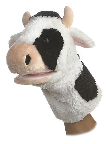 Aurora World Plush Cow Puppet