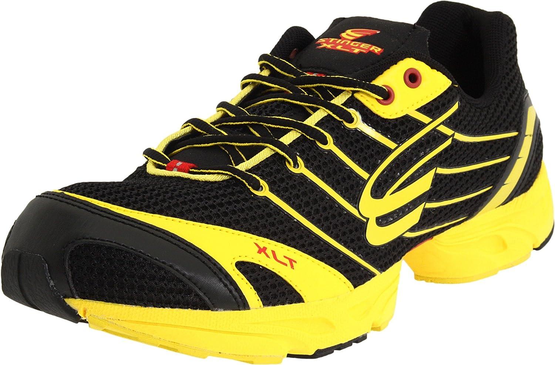 Spira Men's Stinger XLT Running Shoe B004WQRIQC 7 D(M) US|Black/Sun